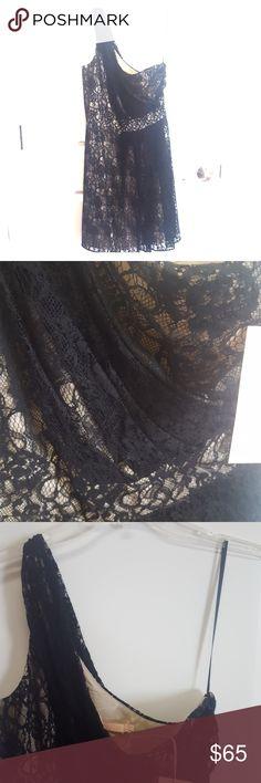 HUTCH LACE PARTY DRESS 👗💖 Elegant one shoulder party dress hutch Dresses Midi