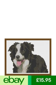 King Charles Spaniel Dog Cross Stitch Kit by Florashell
