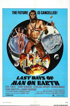 Last Days Of Man On Earth Movie poster Metal Sign Wall Art x Horror Movie Posters, Cinema Posters, Movie Poster Art, Horror Movies, Fiction Movies, Sci Fi Movies, Science Fiction, Fantasy Movies, Cult Movies