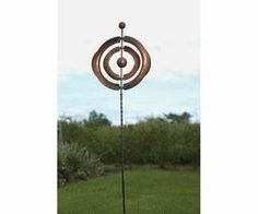 Concentric Kinetic Spinner WindSpinner Garden & Yard Sculpture