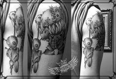 voodoo doll tattoo centuriontattoo