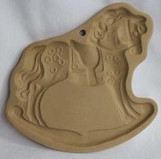 Brown Bag Art Rocking Horse Cookie Mold by Grandmascedarchest, $10.00