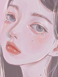 Pretty Art, Cute Art, Aesthetic Art, Aesthetic Anime, Arte Sketchbook, Digital Art Tutorial, Digital Art Girl, Cartoon Art Styles, Anime Art Girl