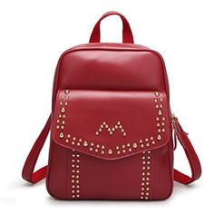 HIFISH HB125256C3 PU Leather College Wind Women's Handbag,Vertical Section Square Backpack *** For more information, visit http://www.amazon.com/gp/product/B01DMS0FLU/?tag=clothing8888-20&prw=190816161433