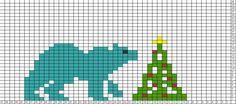 Tricksy Knitter Charts: polar bear