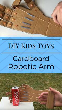 How to make cardboard roboticarm