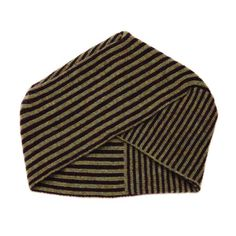 Turban - 'DEW POINT LINE' - tan/marl by ELECTRONIC SHEEP