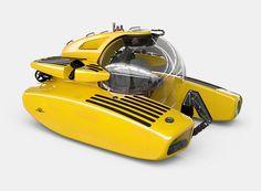 triton 6600/2 personal submarine designboom