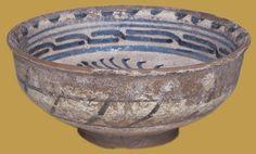 İznik Milet ware, bowl, 1450-1500, Victoria and Albert Museum collection.