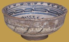 İznik Milet ware, bowl, 1450-1500, Victoria and Albert Museum collection.
