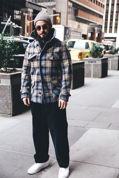 New York Fashion Week: Men's (Ene. 2017) - Streetstyle (Día 1)