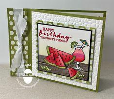 Fun Fold Cards, Folded Cards, Card Kit, I Card, Pina Colada Glass, Stampin Up Paper Pumpkin, Pumpkin Cards, Book Binding, Creative Words