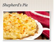 On The Menu: Shepherd's Pie. Explore this legendary casserole and the ...