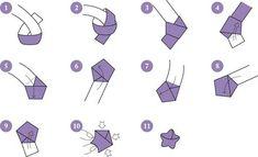 diy paper stars Origami And Quilling, Paper Crafts Origami, Diy Origami, Diy Paper, Ideas Origami, Diy Crafts For Gifts, Fun Crafts, How To Do Origami, Kpop Diy