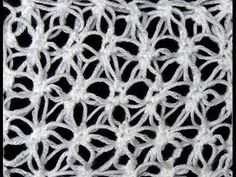DIY Tutorial - Learn How to Crochet Flower of Life Chain Shawl - Star Stitch - YouTube
