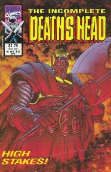 The Incomplete Death's Head (Marvel UK, 1993) #4