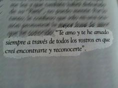 Spanish love quote I fell in love with <3