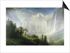 Majesty of the Mountains SwitchArt™ Print by Albert Bierstadt at Art.com