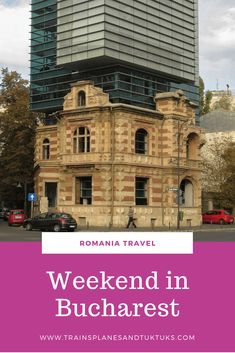 Planning to visit Bucharest Romania? Use this weekend guide to Bucharest to plan the perfect trip. Includes Bucharest Romania things to do, Bucharest food, Bucharest attractions, and everything else you need to know to plan a trip to Bucharest Europe Travel Tips, Travel Guides, Travel Destinations, Budget Travel, Amazing Destinations, European Destination, European Travel, Weekend Trips, Weekend Getaways