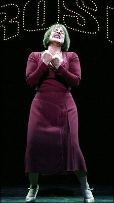 "Patti LuPone won a Tony as Mama Rose in ""Gypsy,"" 2008"
