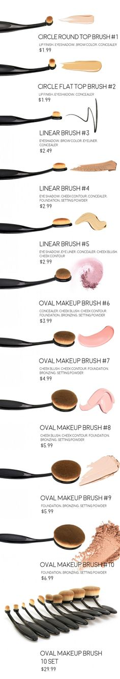 What all the buzz is about these makeup brushes? More fibres do more work with every pass across the surface of the skin! http://www.ikatehouse.com/beauty-care/cosmetic-implements/cosmetic-brushes.html |> More Info: | makeupexclusiv.blogspot.com |