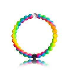 Each lokai is infused with elements from the highest and lowest points on Earth. The bracelet's white bead carries water from Mt. Everest, and its black bead contains mud from the Dead Sea. These extr