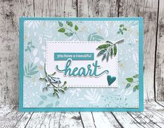 I received my Simon Says Stamp May Card Kit yesterday - here's my first card using the supplies. supplies: white and Audrey Blue. Butterfly Cards, Flower Cards, Card Kit, I Card, Stamp Card, Miss You Cards, Sending Hugs, Friendship Cards, Simon Says Stamp
