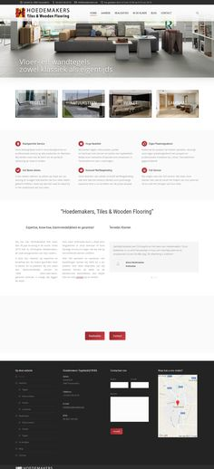 WordPress site hoedemakers.be uses the The7 theme wordpress
