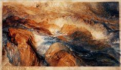 Rocks in Unrest by John Ruskin 1845-1855