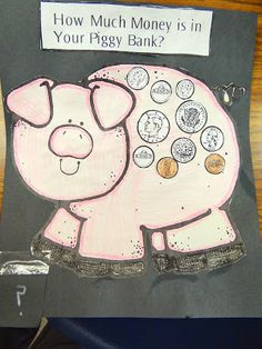 Pigs Will Be Pigs and Money Piggy Banks (Project Based Learning) AND some #Money Raps to sing and snap!