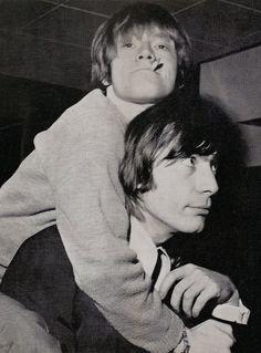 The Rolling Stones, Brian Jones, Charlie Watts http://media-cache-ec6.pinterest.com/550/8f/0f/9c/8f0f9cdeba34d5de4f548419fceb54bf.jpg