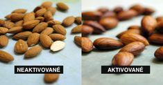 Prečo by ste mali orechy a semená pred konzumáciou aktivovať Nutrition Tracker App, Nutrition Guide, Healthy Fats, Healthy Life, Roasted Nuts, Nutrition Activities, Slim Fast, Easy Snacks, Almond