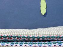 #wickelauflage grün, Wickelauflage 85x75 abwaschbar