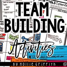 FREEBIE!!!! Building a positive classroom community is one of the most important things you can do as an educator. It lets your students know that they are loved, that you are their biggest advocate, that you will listen, and that they are safe. This frebbie includes six team building activities that are great starting points for building a community of trust and HAVING FUN!! #HollieGriffithTeaching #BackToSchool #KidsActivities
