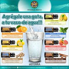 Una gota en tu agua