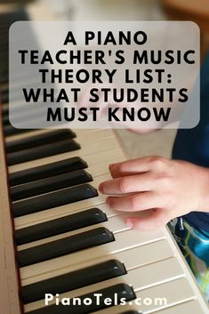 A Piano Teacher's Music Theory List: What Students Must Know teach yourself piano. Piano tips learning. Basic Music Theory, Music Theory Lessons, Piano Songs, Piano Music, Music Theory Piano, Piano Quotes, Teach Yourself Piano, Piano Lessons For Beginners, Learn Piano Beginner