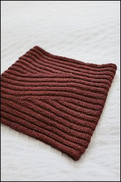 """[short row cowl]  Resources: The Setzer pattern is available as a downloadable PDF through Brooklyn Tweed or Ravelry. Yarn for this project is available here; sample shown was knit up with Brooklyn Tweed SHELTER in the """"Wool Socks"""" colorway."""