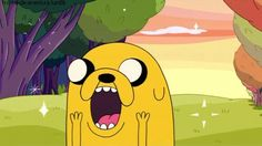 Find GIFs with the latest and newest hashtags! Search, discover and share your favorite Cartoon Network GIFs. The best GIFs are on GIPHY. Time Cartoon, Happy Cartoon, Jake Le Chien, Adventure Time Gif, Land Of Ooo, Happy Gif, Tv Happy, Creepy, Finn The Human