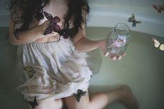 butterflies by little body big heart, via Flickr