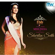 Shes miss tamil nadu  Sherlin seth Vote for her