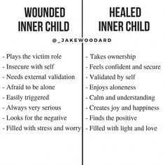 If you look at most people (not from judgment but coming from a place of compassion and understanding) and relate them to a child you will… Trauma, Ptsd, Inner Child Healing, Info Board, Mental And Emotional Health, Holistic Healing, Self Improvement, Self Help, Inspirational Quotes