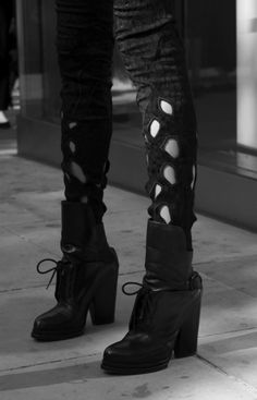 Alexander Wang Leonie Booties. What I really love are the pants though.