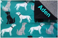 New to Sewdivine77 on Etsy: Puppy dog double layered fleece blanket/throw (55.00 USD)