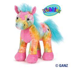 Webkinz Tie Dyed Pony $13.95