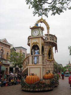 Cinderella - disney parade