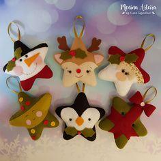 68 Ideas Crochet Crafts For Kids Fun Christmas Makes, Rustic Christmas, Christmas Fun, Vintage Christmas, Felt Christmas Decorations, Felt Christmas Ornaments, Crochet Crafts, Felt Crafts, Pinterest Christmas Crafts