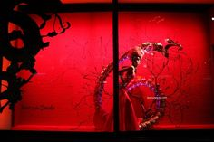 Harrods Chinese New Year windows at Knightsbridge London 08