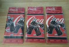 Coca-cola decorative border in package lot of 3 packs Coca Cola Wallpaper, Inspired By Charm, Spend With Pennies, Always Coca Cola, Decorative Borders, Holiday Cakes, Coke, 1990s, Coca Cola