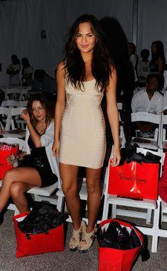Chrissy Teigen Photos: Around Mercedes-Benz Fashion Week Swim 2012 Day 2
