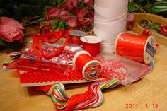SEWING Supplies and Craft SUPPLIESRed by MellyMcBlueTreasures, $4.50